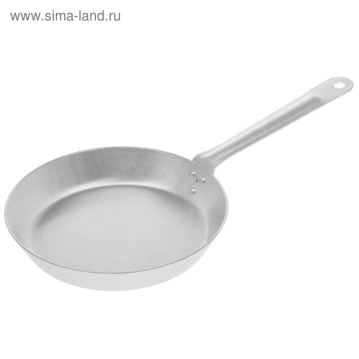 Сковорода, d=20 см, без крышки, металлическая ручка