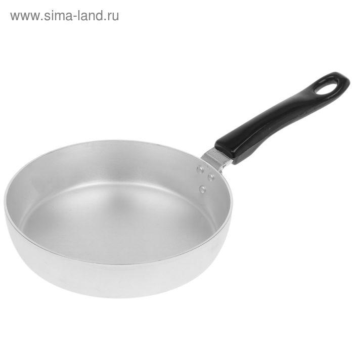 Сковорода, d=18 см, без крышки, пластмассовая ручка
