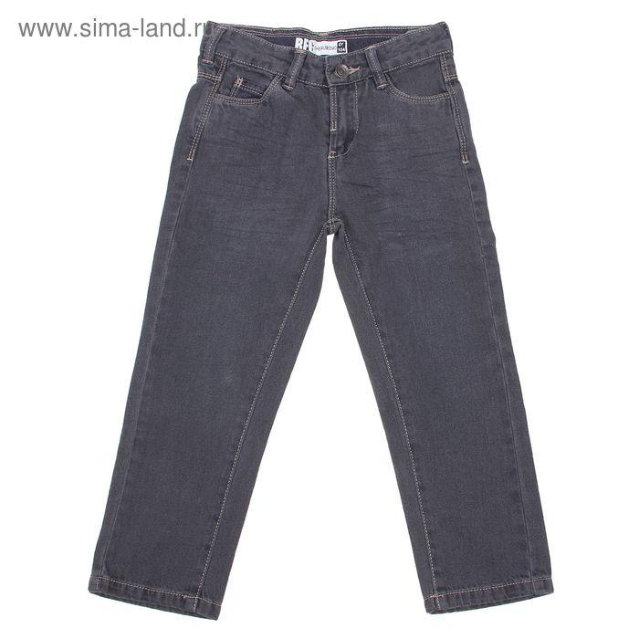 Брюки джинсовые для мальчика, рост 146 см, цвет серый (арт. CJ 7J032)