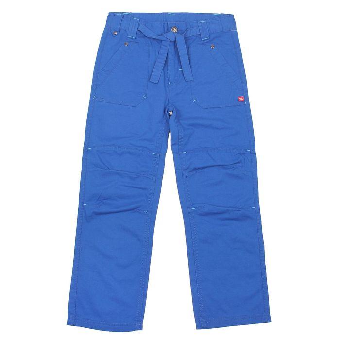 Брюки для мальчика, рост 140 см, цвет синий