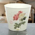 """Горшок для цветов 1,8 л """"Крит. Прованс"""", d=16 см, с системой прикорневого полива"""