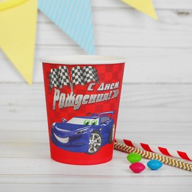 "Glass paper ""happy Birthday! Car"", 250 ml"