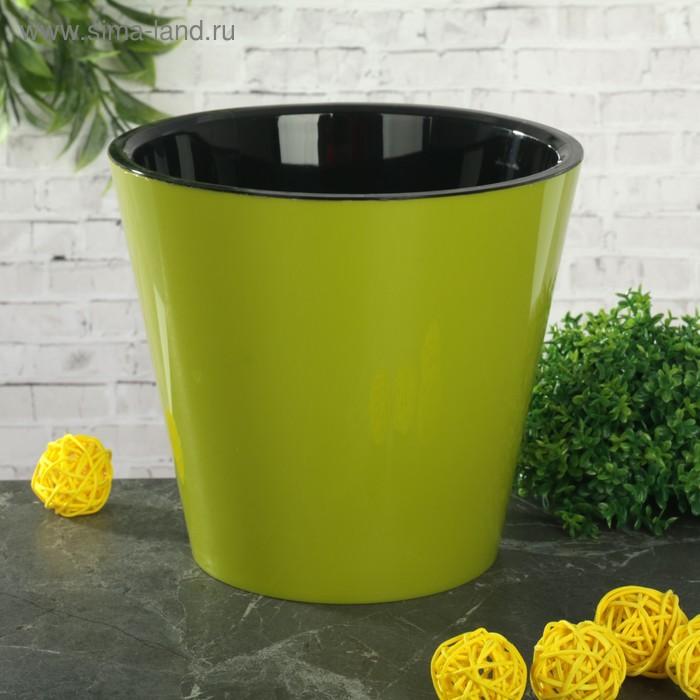 """Горшок для цветов 1,6 л """"Фиджи"""", d=16 см, цвет МИКС"""
