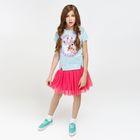 Юбка детская для девочек Alcatel, рост 164 см, цвет розовый (арт. 20210180010)