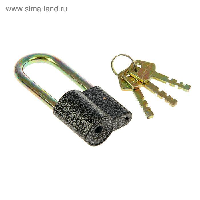 "Замок навесной ""АЛЛЮР"" ВС2-26-01С, дужка  d=8 мм, 3 ключа с двойной нарезкой, цвет антик"