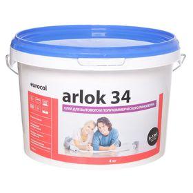 Клей  дисперсионный Arlok 34 4 кг