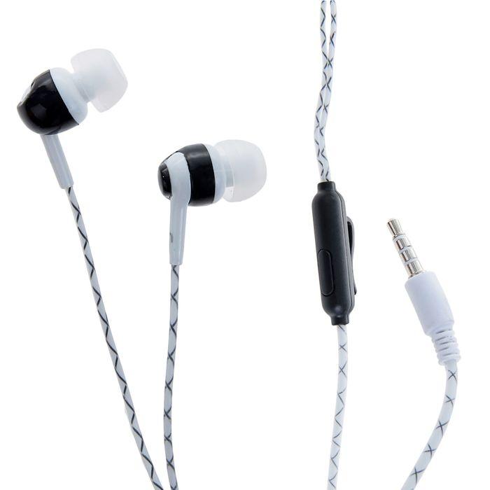 Наушники с микрофоном Human Friends Lumen, вакуумные, светящийся кабель, микс