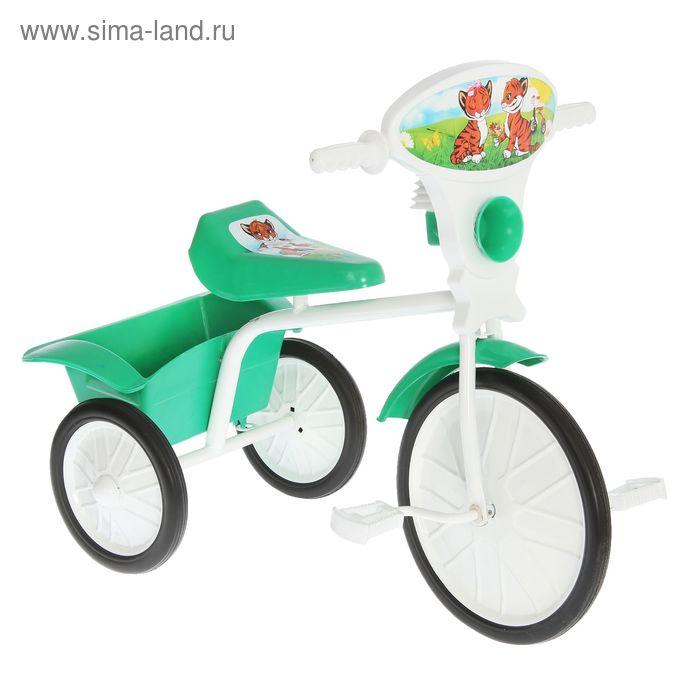 """Велосипед трехколесный  """"Малыш""""  05, цвет зеленый, фасовка: 2шт."""