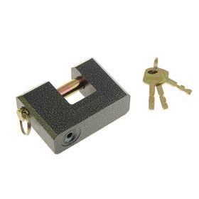 "Замок навесной ""АЛЛЮР"" ВС2-3С, дужка d=13 мм , 3 ключа с двойной нарезкой, цвет антик"