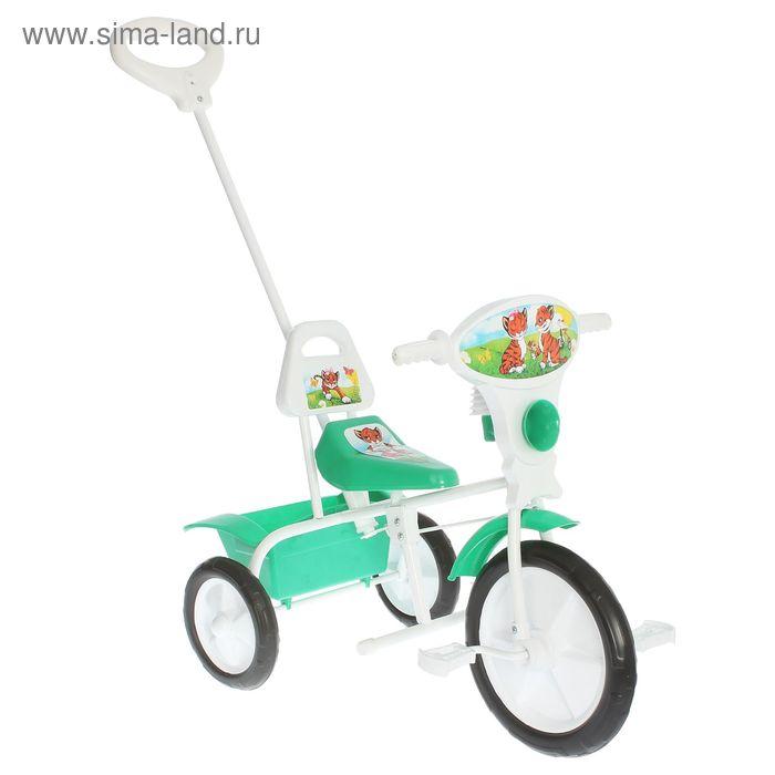"""Велосипед трехколесный  """"Малыш""""  09/2П, цвет зеленый, фасовка: 2шт."""