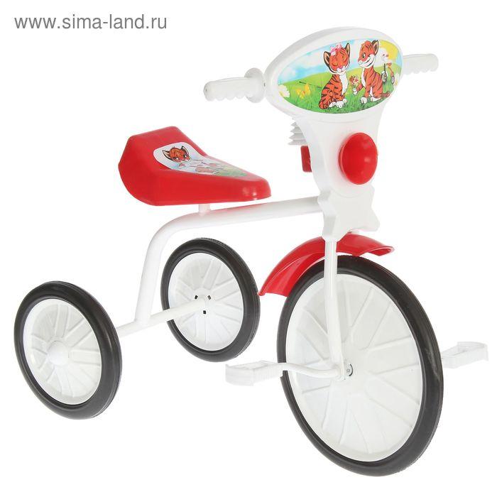 """Велосипед трехколесный  """"Малыш""""  01, цвет красный, фасовка: 3шт."""