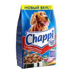 Сухой корм Chappi для собак, с говядиной по-домашнему, 2,5 кг