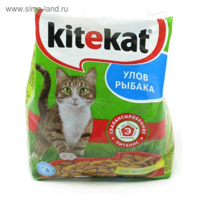 """Сухой корм Kitekat """"Улов рыбака"""" для кошек, 800 г"""