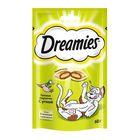 Лакомство Dreamies для кошек, с уткой, 60 г