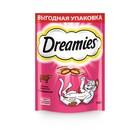 Лакомство Dreamies для кошек, с говядиной, 140 г