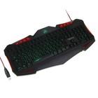 Клавиатура Qumo Dragon War Axe, проводная, 104 + 14 клавиш, с подсветкой