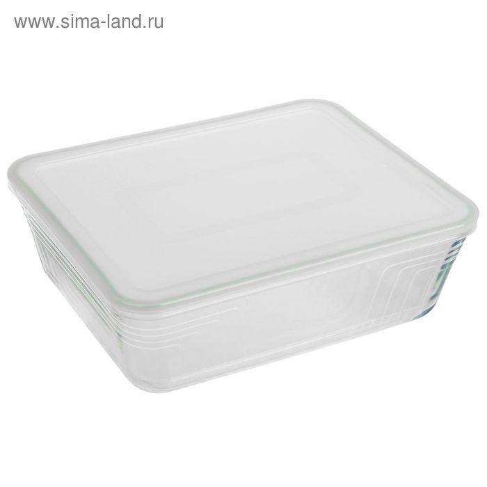 Форма для запекания прямоугольная 4 л с крышкой 27x23 см Pyrex Cook&Store