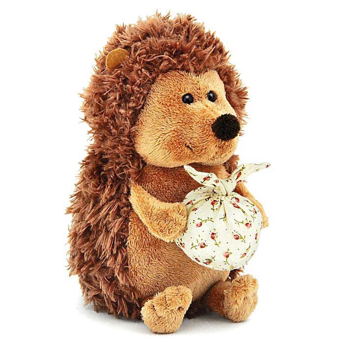 Мягкая игрушка «Ёжик Колюнчик» с узелочком, 20 см - фото 105611081
