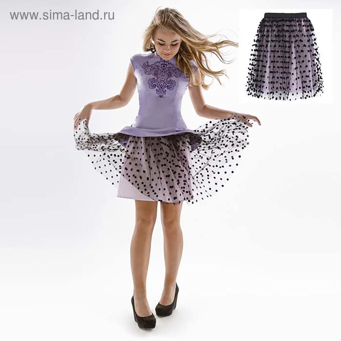 Юбка для девочки, рост 170 см (80) (арт. 16Н1-ЮБД059-01)