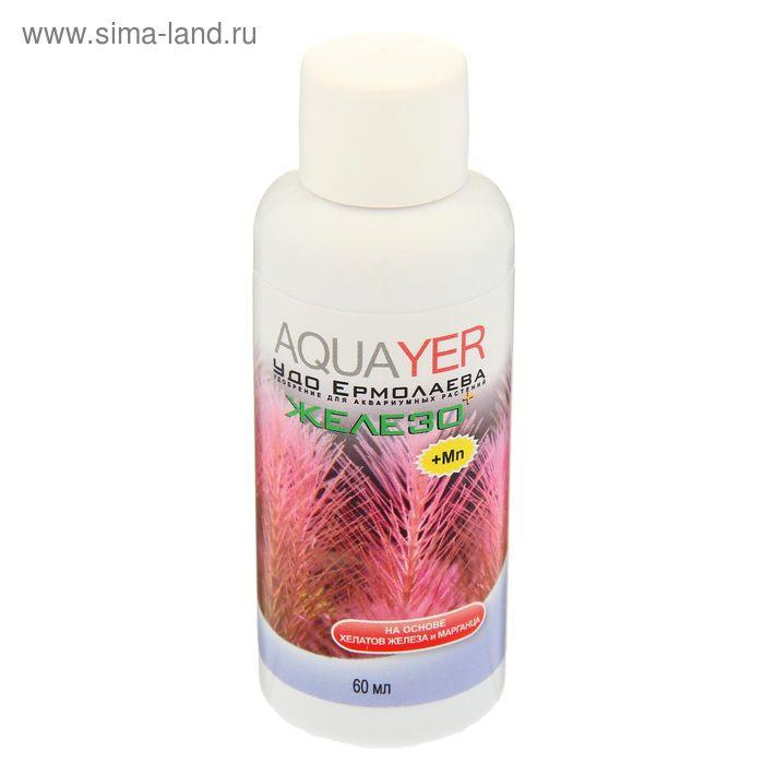 Удобрение для аквариумных растений Aquayer ЖЕЛЕЗО+, 60 мл