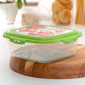 1.55 L food container with Click & Lock airtight lid, MIX color