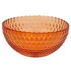 Салатник «Роса», 1,5 л, d=21 см, цвет оранжевый
