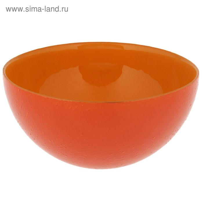 """Салатник d=21 см """"Шеф"""" 1,5 л, цвет светло-оранжевый"""