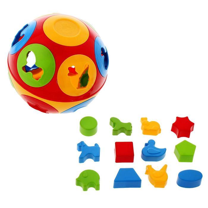 Игрушка-сортер «Колобок» - фото 106543243
