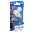 Лампа автомобильная Philips, P21/5W, 12 В, 21/5 Вт (BA15d), LED, красная