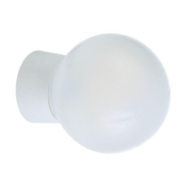 Светильник TDM, Е27, 60 Вт, УХЛ4, настенно-потолочный, прямое основание, белый