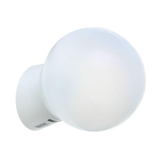 Светильник TDM УХЛ4, Е27, 60 Вт, IP21, настенно-потолочный, наклонное основание, белый