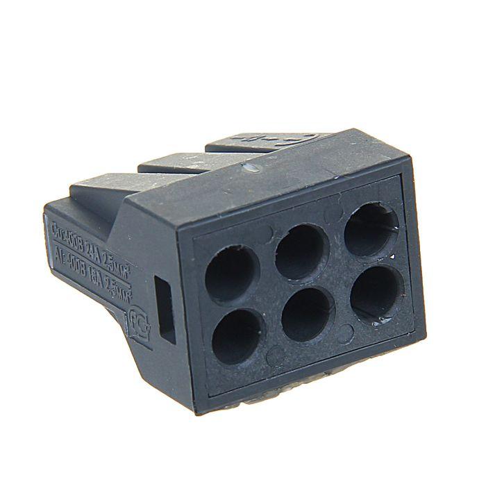 Строительно-монтажная клемма КБМ-773-306, 2.5 мм2, SQ0517-0003