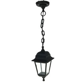 Светильник TDM, садово-парковый, четырёхгранник, подвесной, чёрный, SQ0330-0706