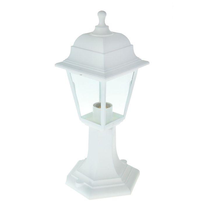 Светильник TDM, садово-парковый, четырёхгранник, стойка, белый, SQ0330-0735