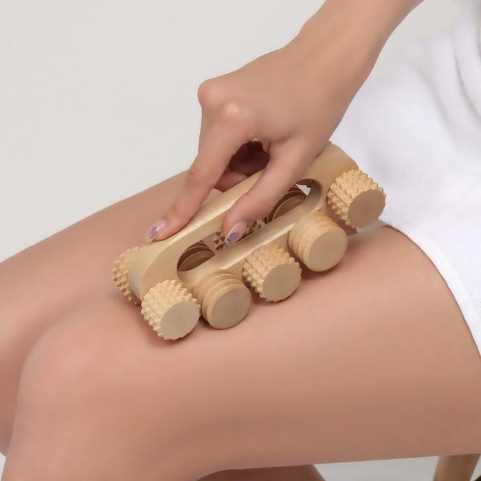Массажёр «Качалка», деревянный