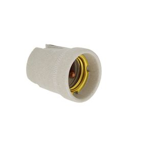 Патрон TDM, E27, керамический, контакты медные, SQ0319-0002 Ош