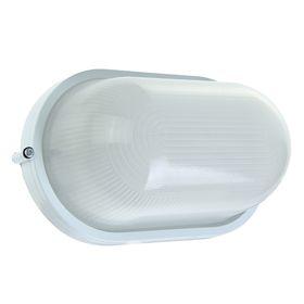 Светильник TDM НПБ1201, Е27, 100 Вт, IP54, овальный, белый