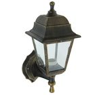 Светильник TDM, садово-парковый, настенный, четырёхгранник, цвет бронза, SQ0330-0714