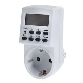 Таймер розеточный ТРЭ-01, 16 А, электронный, SQ1506-0002
