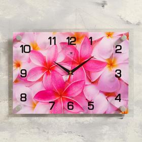 "Часы настенные, серия: Цветы, ""Цветы"", 25х35  см, микс"
