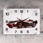 "Часы настенные, серия: Транспорт, ""Спорткар"", 25х35  см, микс"