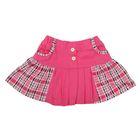 Юбка для девочки, рост 98 см, цвет розовый/розовая клетка (арт. К-018)