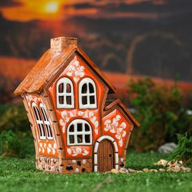 "Oil burner House ""Double"", 16 cm, handmade, mixed"