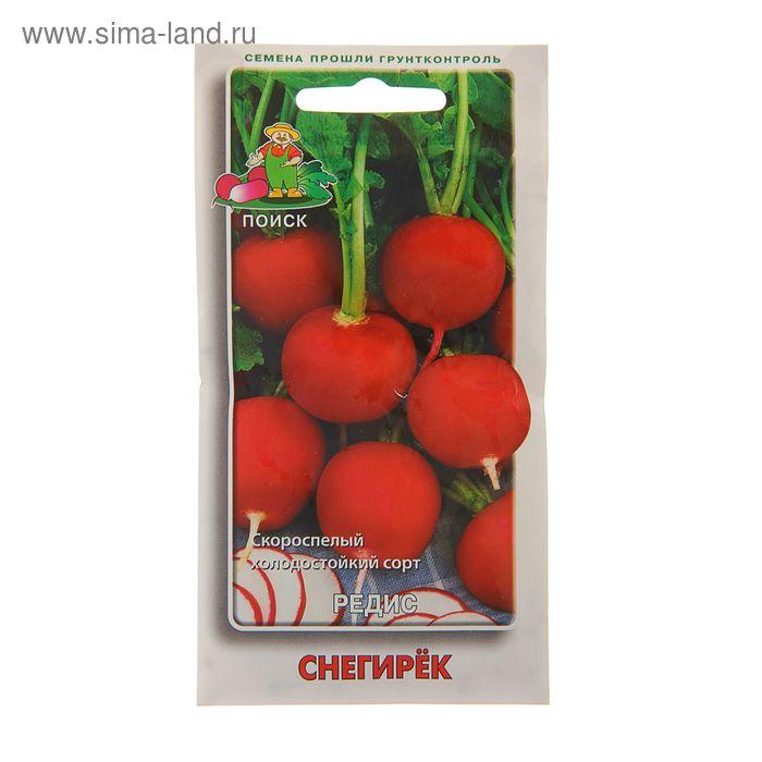 "Семена редиса ""Снегирёк"", 3 г"