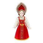 "Souvenir doll ""Evdokia"" in birthday suit"