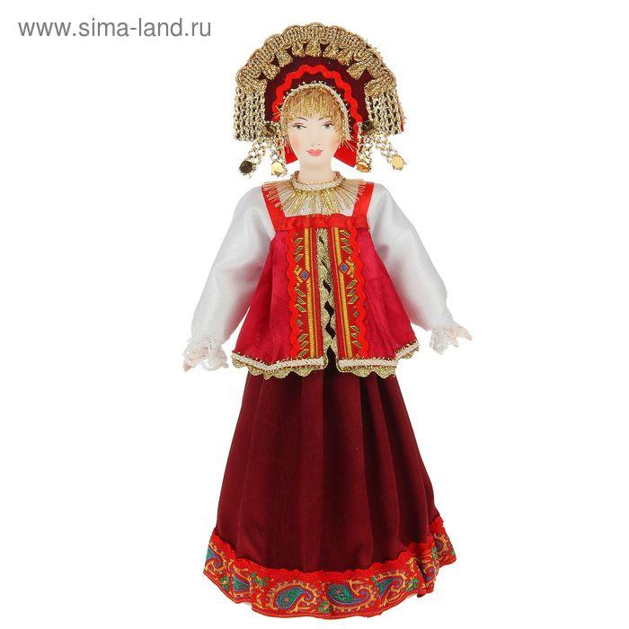 """Сувенирная кукла """"Инна"""" в стилизованном русском костюме"""
