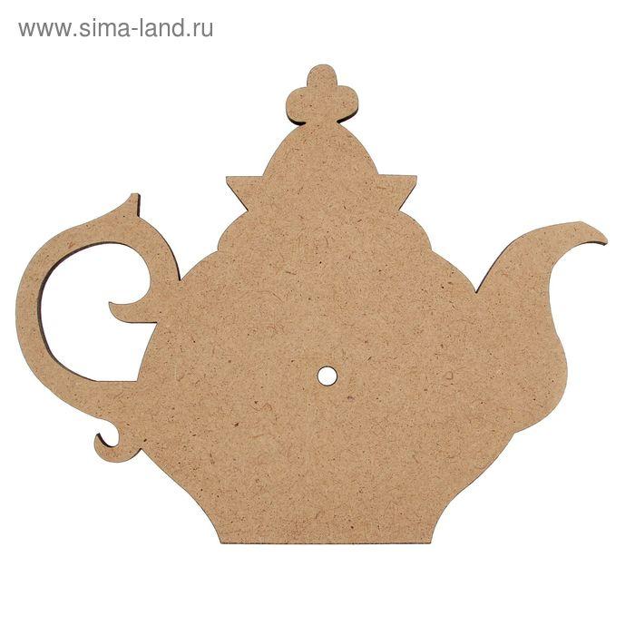 """Основа для часов """"Старинный чайник"""""""