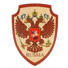 Деревянный щит «Герб Двуглавый Орел»