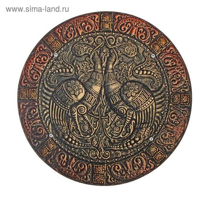 Деревянный щит «Металл»