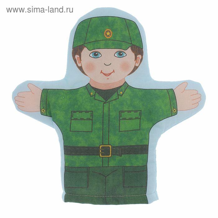 "Кукла-рукавичка ""Военный"""